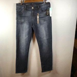 Kut from the kloth size 8 short jeans dark denim